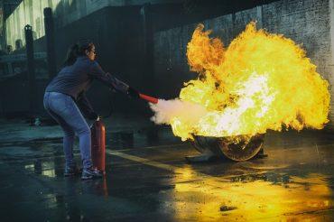 Szkolenie inspektorów ochrony przeciwpożarowej