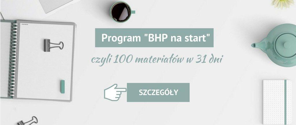 Program BHP nastart