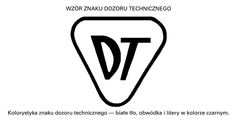 Znak Urzędu Dozoru Technicznego