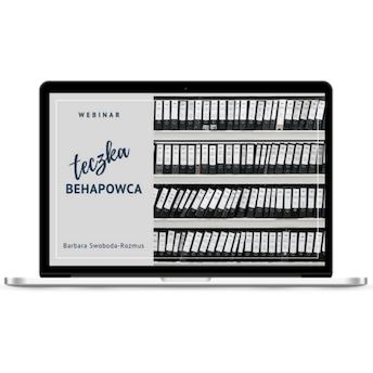 """Webinar """"Teczka Behapowca"""""""