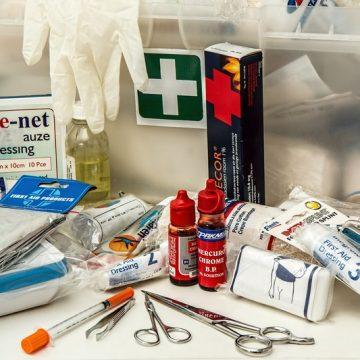 Apteczki pierwszej pomocy wzakładzie pracy