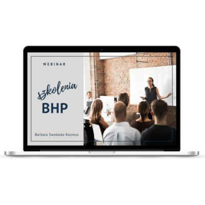 Webinar Szkolenia BHP