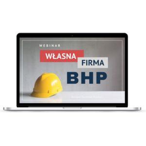 """""""Własna firma BHP""""webinar"""