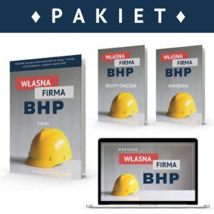 """PAKIET """"Własna firma BHP"""