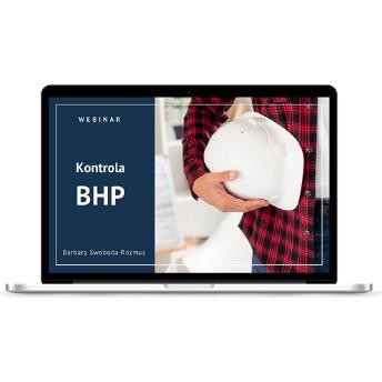 """Webinar """"Kontrola BHP"""" - zdjęcie informacyjne w sklepie BHP od podszewki"""