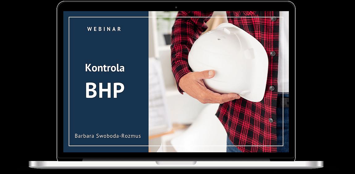 """Webinar """"Kontrola BHP"""" - zdjęcie informacyjne"""